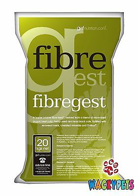 GWF Nutrition Fibregest 20kg. Non-Soak Conditioning food for Horses (GWF017)