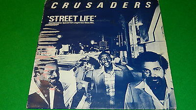 "CRUSADERS : Street life (US disco mix) - UK 1979 Limited Edition 12"" single EX"