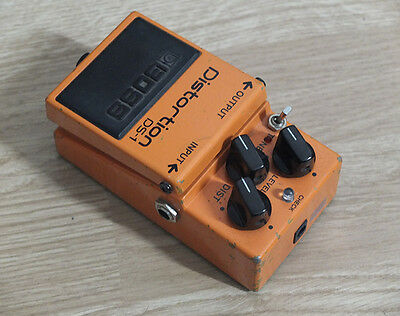 Boss Distortion DS-1 with mod.
