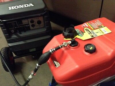 Honda Eu3000Is Generator 6.5 Gal Extended Run Marine Fuel System ** New 2017 **