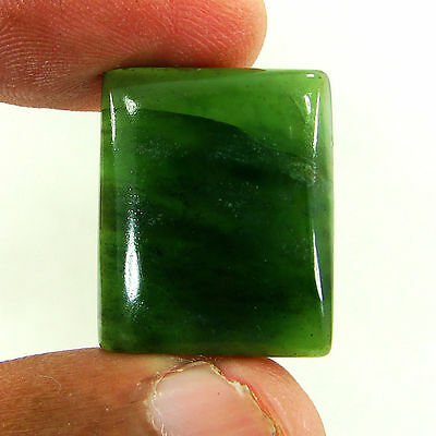 26.20 Ct Natural Cabochon Green Serpentine Loose Gemstone Stone - R1392