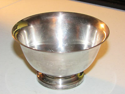 Reed & Barton Silver Small Bowl, Paul Revere Design, Needs Cleaning
