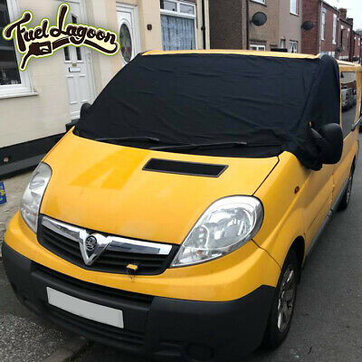 Renault Trafic Screen Cover Blackout Blind Window Wrap Curtain Camper *FREE MATS
