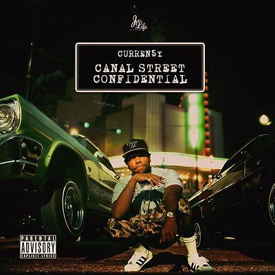 Currensy  - Canal Street Confidential  [New & Sealed] Explicit - Digipack CD