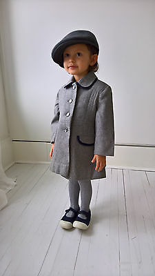 Children's Vintage Wool Coat size 2T - Similar to Prince George Christmas Coat