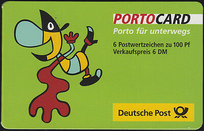 PORTOCARD Twipsy 2000 Weltausstellung Expo Hannover 2000 mit 6x2089 **