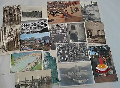 Postcards of Spain & Portugal 63 cards