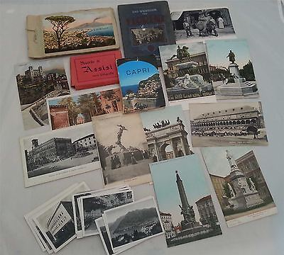 Postcards & Photo booklets of Italy (C)