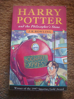 Harry Potter and the Philosopher's Stone by J. K. Rowling Paperback, 1997 1ST ED