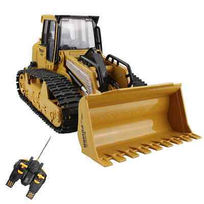 5 Channel Remote Control Crawler Bulldozer Heavy Truck Vehicle Toy Full Function