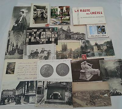 Postcards of France 56 cards + photos PC6-2
