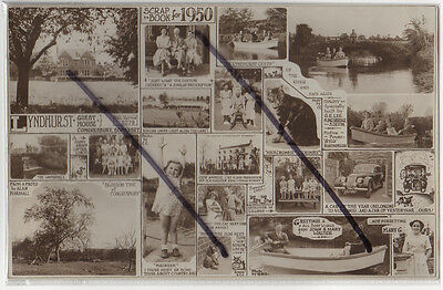 Congresbury, North Somerset: Lyndhurst Guest House Photographic Multiview 1950