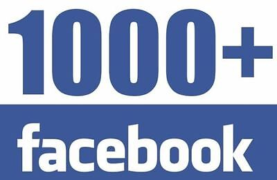TOP 1000+ Facebook Fan Page or Photo like - No Drop High Quality