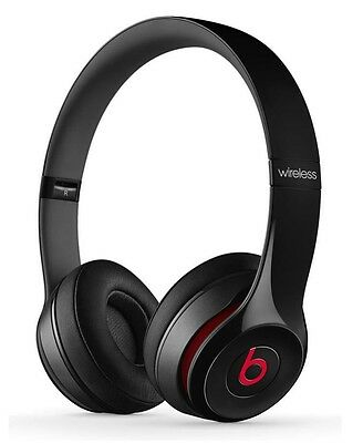 Beats Solo2 Wireless Headset on-ear Black & Red BRAND NEW SEALED from APPLE