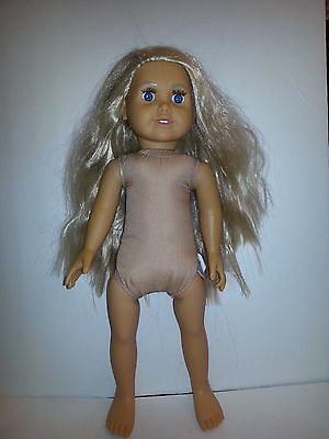 Fibre Craft  Springfield 18 inch Nude Doll Friend of American Girl, Blonde