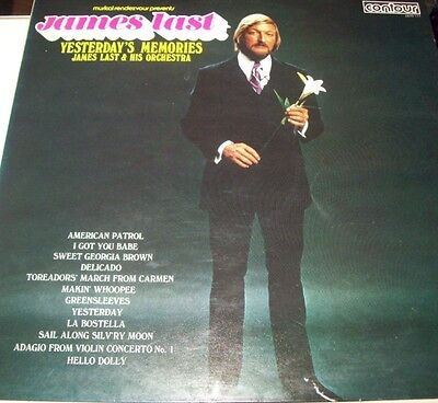 James Last And His Orchestra-Yesterday's Memories LP-CONTOUR, 2870 117, 1966, 12