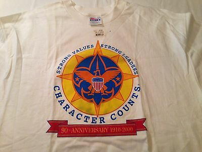Boy Scout T-shirt, 90th Anniversary, New with tag, Unused, Size XL, VERY NICE!