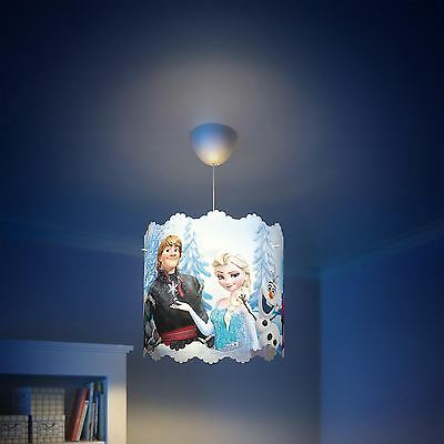 SALE ON! Disney Frozen ceiling light shade (lamp shade only) blue