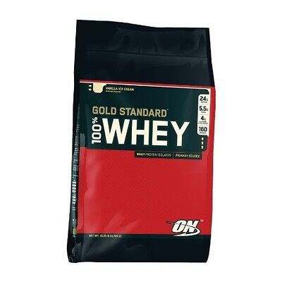 Optimum Nutrition Gold Standard 100% Whey Protein 4.5kg | Next Day Delivery