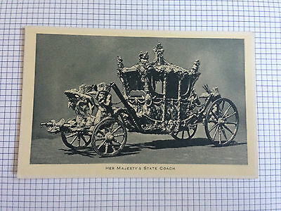 Her Majesty's State Coach Tuck Postcard