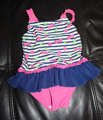 Cherry print swimsuit age 18-23 months