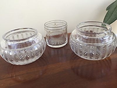 3 Small Glass Items