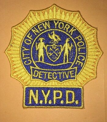 New York Police Detective Patch - Last One !