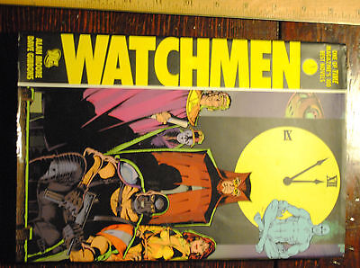 DC Comics Watchmen hardcover with dust jacket Alan Moore Dave Gibbons