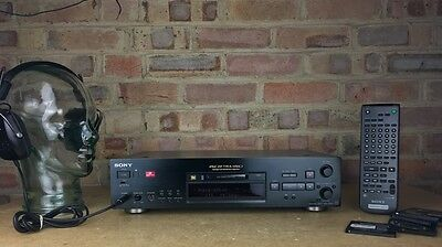 Stunning Sony MDS-JB940QS MD Player In Black Incl. Remote. 99p NR
