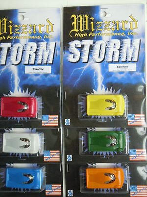 New 6 Pack Wizzard Storm Extreme made in USA Slot Car Sale