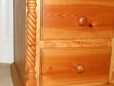 solid oak 2 drawer chest, FREEPOST, no reserve price
