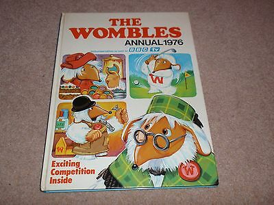 1976 The Wombles Annual by World Distributors, Hardback