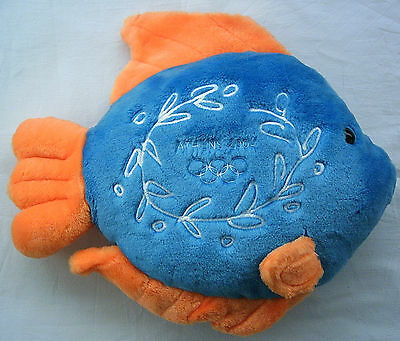 Orig.mascot   Olympic Games ATHEN 2004 - Sailing Event`s // 45 cm  !!  RARITY