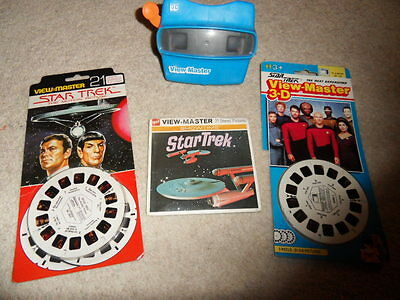 viewmaster Star Trek x 9 reels with viewer Rare