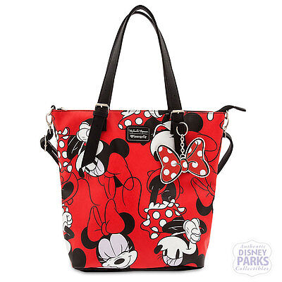 Disney Parks Minnie Mouse Satchel by Loungefly Tote Bag Purse