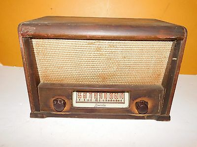 Vintage LINCOLN Tube Radio, working condition!!