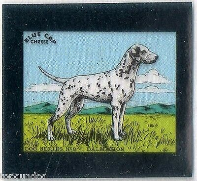 Dalmation Dog Flixies Blue Cap Cheese Trade Card 1952