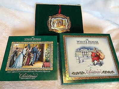 **2011-The White House Historical Association Christmas Ornament