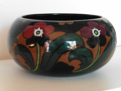 Art Nouveau    Hand Painted Bowl  - Large Good Condition - Shelley? Gouda ?
