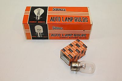 STANLEY Vintage Auto Lamp Bulbs NOS Japan A6880R 12 V 42/36W Light Tail Head
