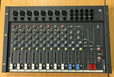 Spirit Folio 12/2 By Soundcraft Mixing Desk Mixer Console Board Unit 12 Channel