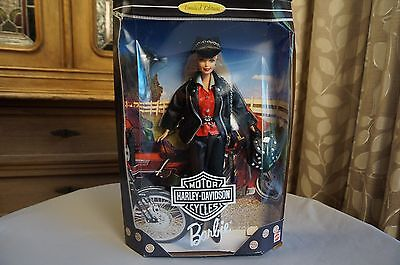 Harley-Davidson Motor Cycles Barbie Doll Limited Edition #17692