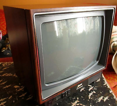 "Zenith Space Command 13"" Television Model SE1315W Color TV Gamers Game Monitor"
