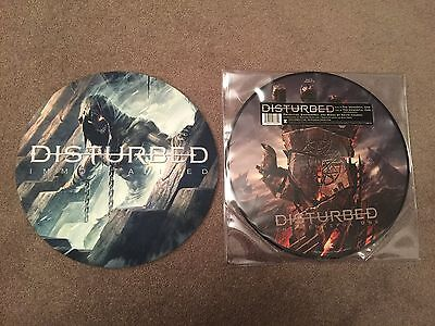 """12"""" Picture Disc & Slipmat / Disturbed - The Vengeful One (Single)"""