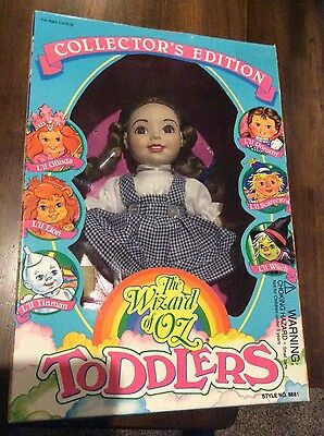 (ALL 6) Wizard of Oz Lil Toddler dolls