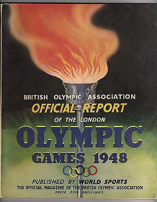 Official Report    XIV.Olympic Games LONDON 1948  !!  EXTREM RARE
