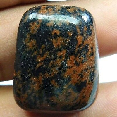 44.80 cts 100% Natural Mahogany Obsidian Fancy Shape Quality Cabochon Gemstone