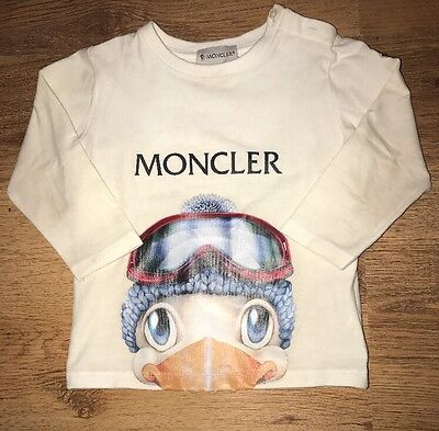 Baby Boys Moncler Long Sleeved Top - 12-18M