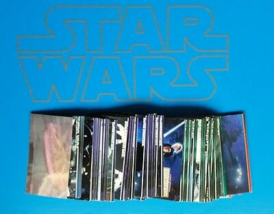 Star Wars original trilogy TOPPS WIDEVISION 95 assorted cards 1994-1997