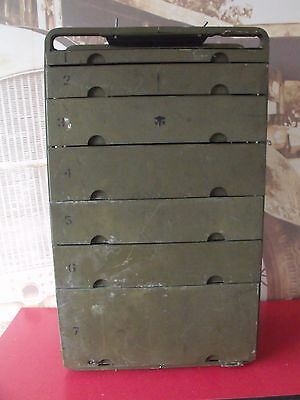 Vintage U.s Military Chest Of Drawers   Military Medical Instrument Chest